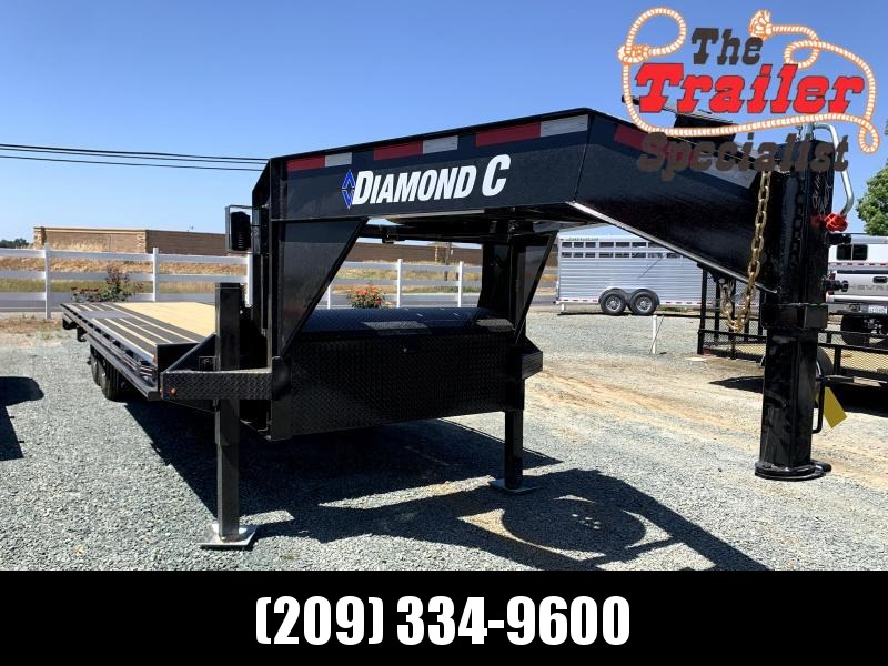 "NEW 2021 Diamond C Trailers DET 207L 26' x 102"" 14.9k GVW deck over tilt GN Equipment Trailer"