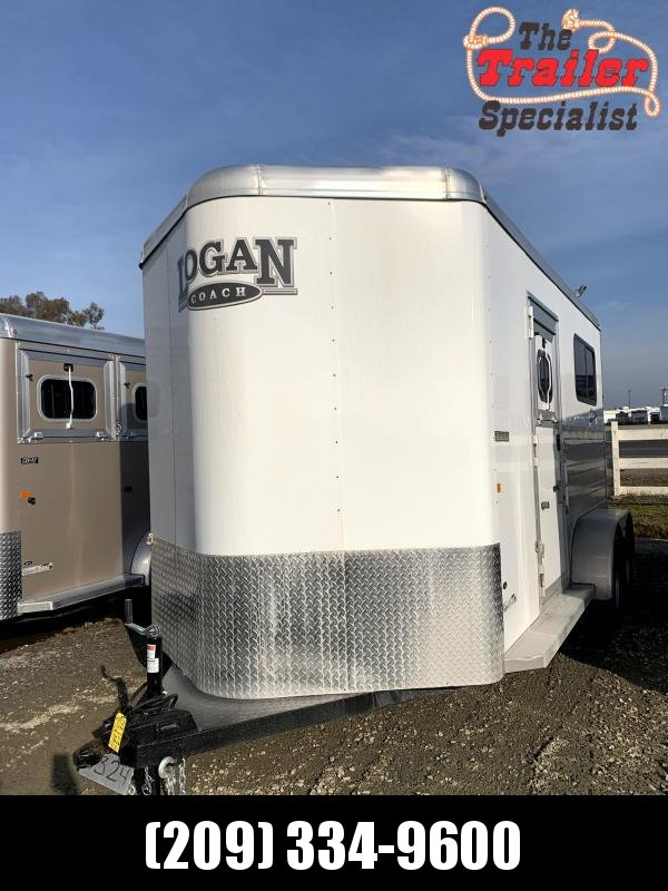 2021 Logan Coach Bullseye Straightload 2 Horse Horse Trailer *MORE PICTURES SOON*