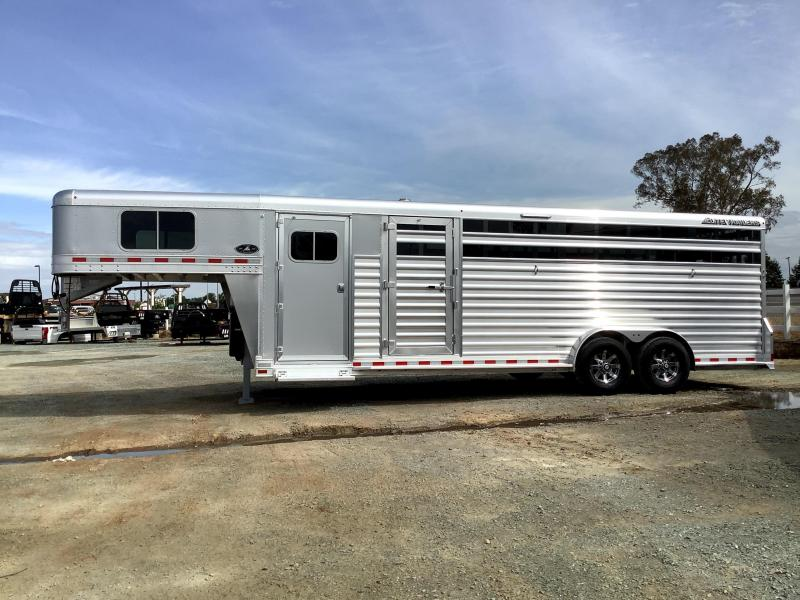 NEW 2021 Elite Trailers Stock Combo Double Tack Livestock Trailer
