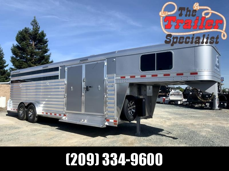 NEW 2022 Elite Trailers Stock Combo Double Tack Livestock Trailer