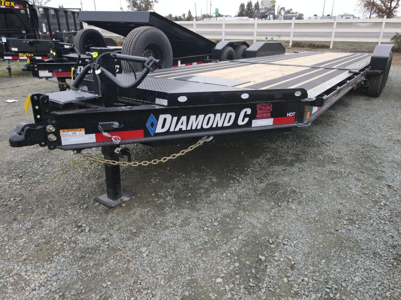 "2021 Diamond C Trailers HDT207-L 24' X 82"" Equipment Trailer"