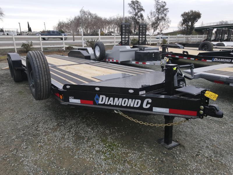 "2021 Diamond C Trailers HDT207-L 24' X 82"" Equipment Trailer"