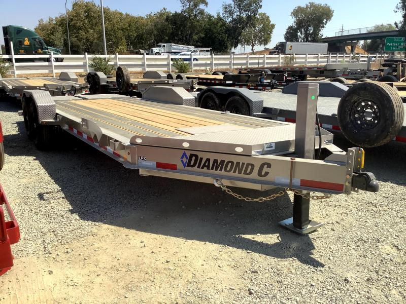 NEW 2021 Diamond C Trailers LPX207L 7 x 20 14900 GVW Equipment Trailer