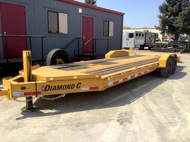 """NEW 2021 Diamond C Trailers LPX208L 80"""" x 24 18k GVWEquipment Trailer"""