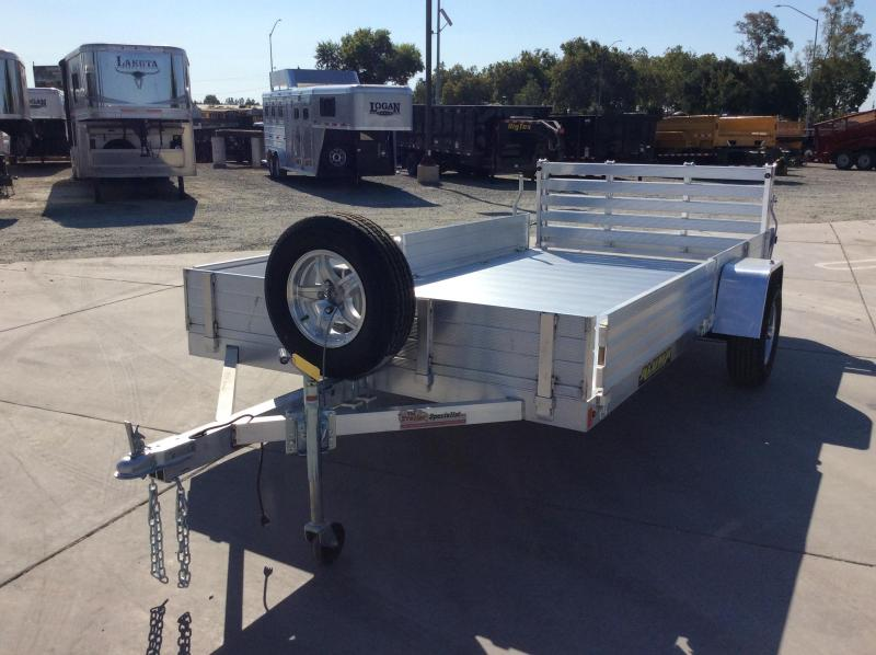 "2021 Aluma 8113S-R-BT-SR Utility Trailer 81""x13' Side Load"