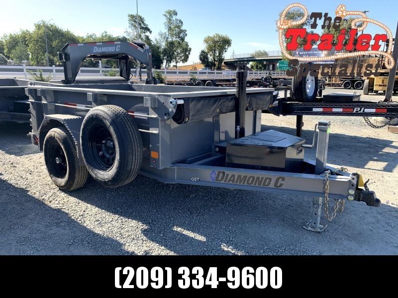 NEW 2021 Diamond C Trailers GST106L 8' x 60' Dump Trailer