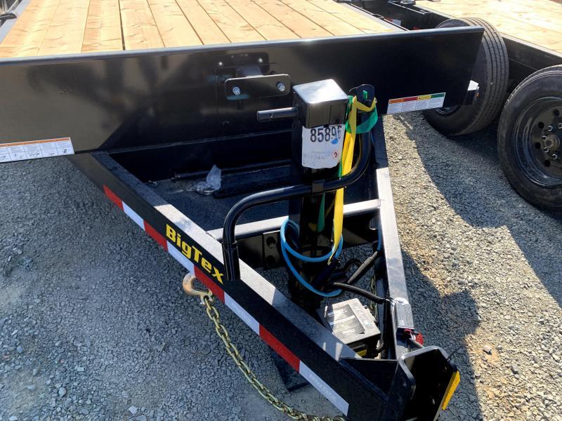 NEW 2022 Big Tex Trailers 16ET-17+3 w/ Mega Ramps 7' x 20' (17' + 3') 17,500 GVW Equipment Trailer