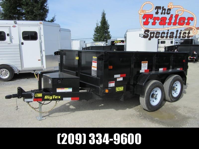 New 2021 Big Tex 90SR-10 6x10 10K GVW Dump Trailer