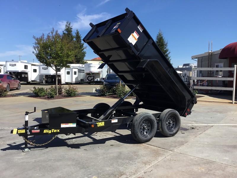 New 2020 Big Tex 70SR-10-5WDD 5x10 7K GVW Dump Trailer