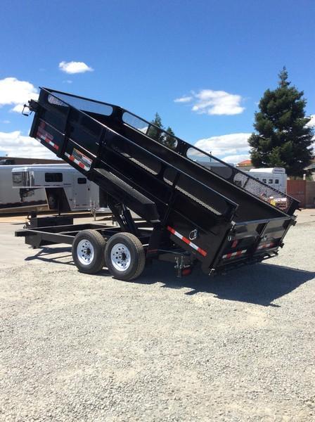NEW 2020 Heavy Duty Midsota HV-16 Dump Trailer
