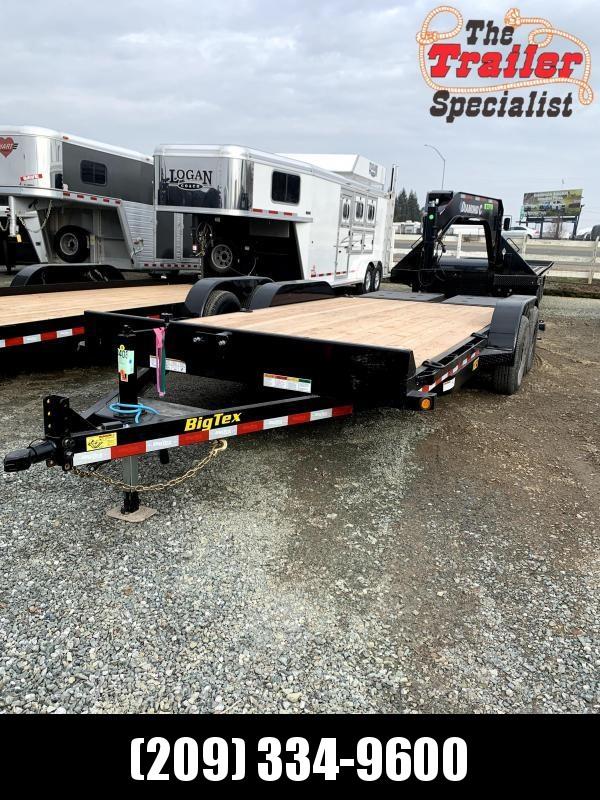"NEW 2022 Big Tex 10ET-18MR 83"" X 18'  10k GVW Equipment Trailer"