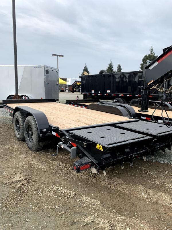 "New 2021 Big Tex 10ET-18MR 83"" X 18'  10000 GVW Equipment Trailer"