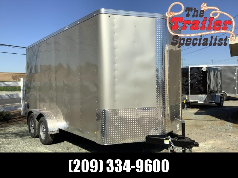 NEW 2021 Mirage Trailers XPRES 7' x 14' TA2 7k GVW Enclosed Cargo Trailer