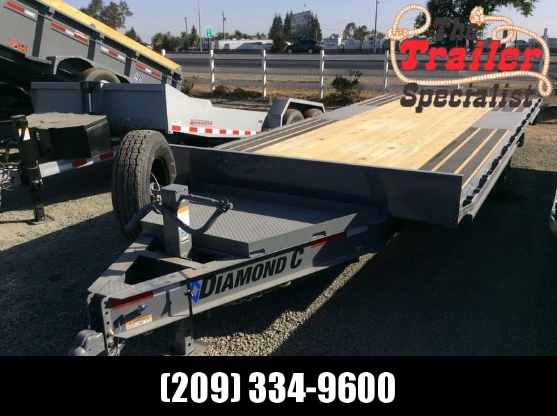 "NEW 2021 Diamond C Trailers 20ft x 102"" Deck over 14.9K GVWR DET Equipment Trailer"