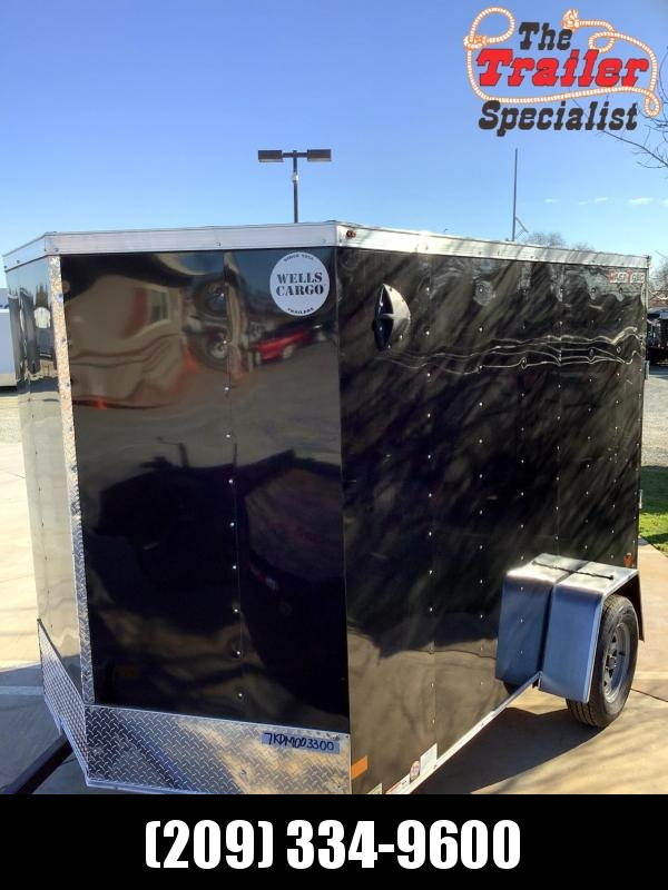 NEW 2021 Wells Cargo FT610S2-D Fastrac 6x10 Enclosed Cargo Trailer