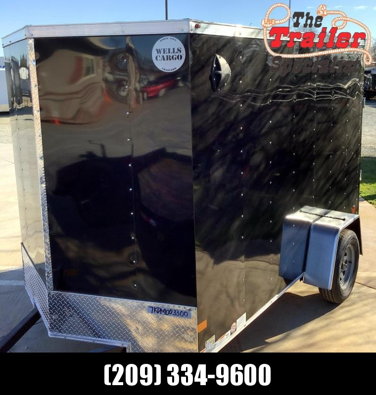 NEW 2021 Wells Cargo Fastrac 6' x 10' 2990 GVW Enclosed Cargo Trailer