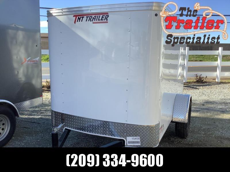 PRE-OWNED 2021 Mirage Trailers XPO 5 x 8 SA 2990 GVW Enclosed Cargo Trailer