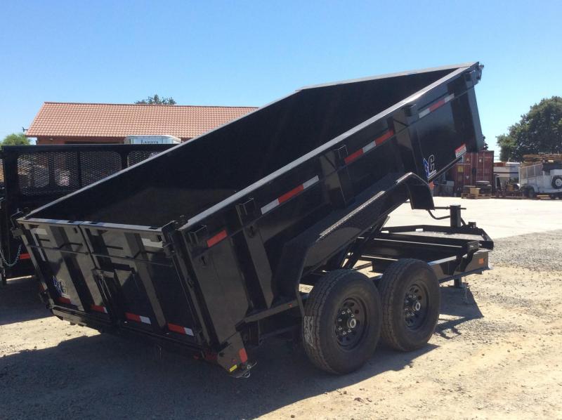 """NEW 2020 Diamond C Trailers Low Pro Dump LPD207L 12ft x 82"""" Dump Trailer"""