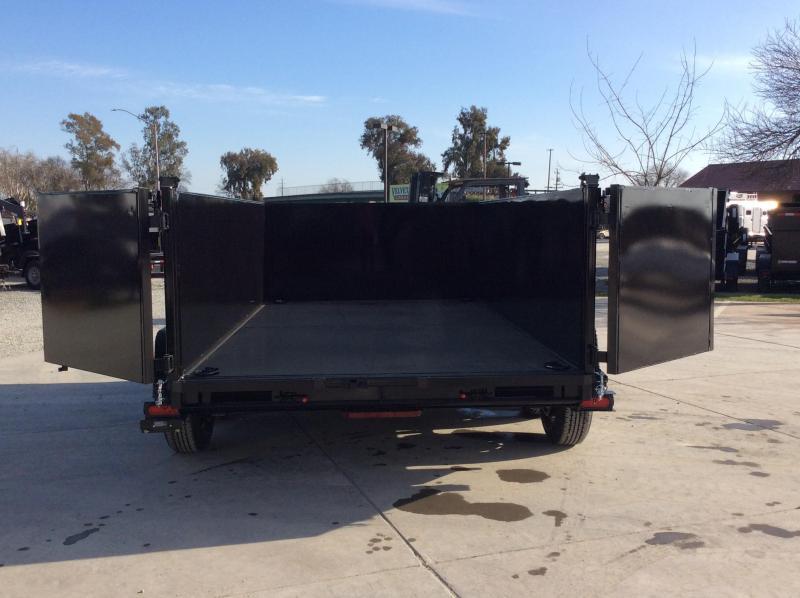 NEW 2022 Five Star DT280 Dump Trailer 7' x 12' 10k GVW 3' Sides
