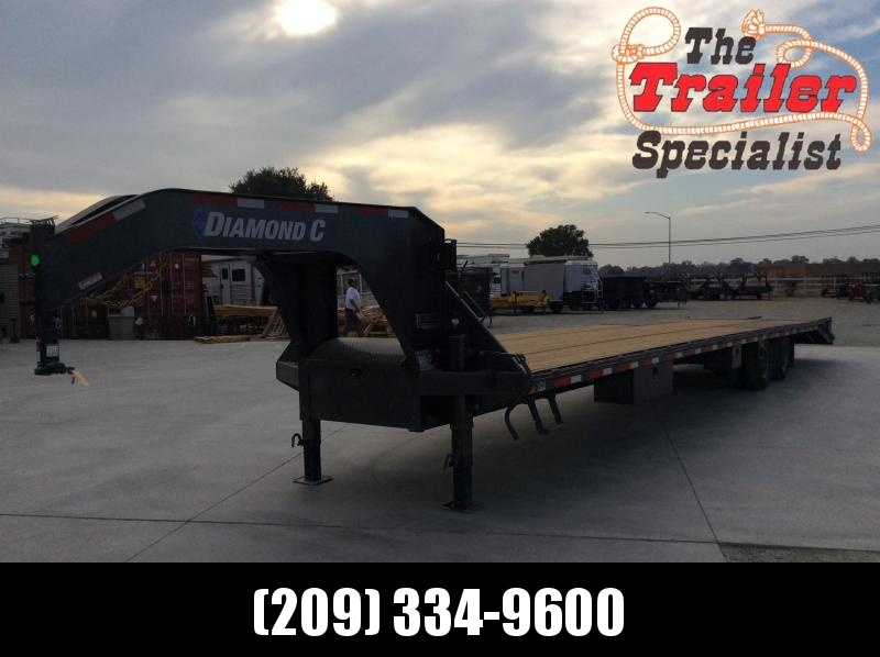NEW 2021 Diamond C Trailers 40ft 25.9k gvwr FMAX212 Equipment Trailer