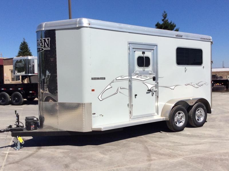 NEW 2020 Logan Coach 2 horse Warmblood XT BP Horse Trailer