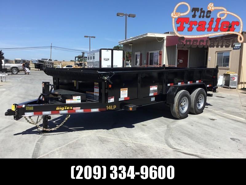 New 2021 Big Tex 14LP-16-6SIR P2 7x16 14K Low profile Dump Trailer