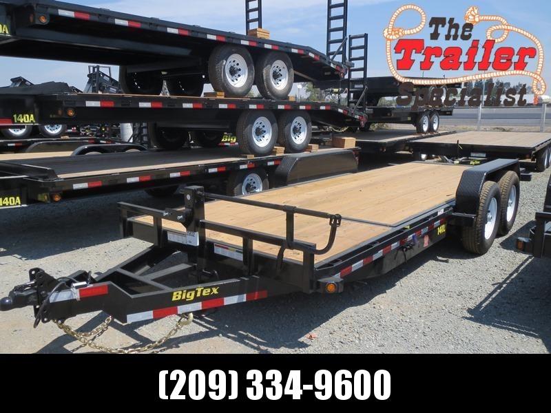 "New 2021 Big Tex 14TL-20 80"" x 20 14K GVW Equipment Trailer"