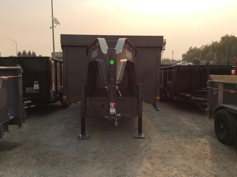 NEW 2021 Diamond C Trailers 8.5' x 20' WDT212 Dump Trailer