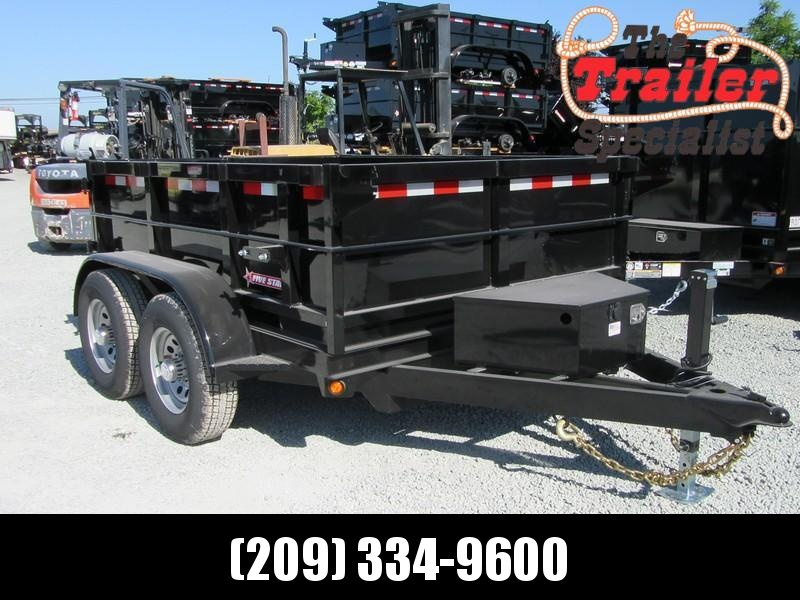 New 2021 Five Star DT287 10K Dump Trailer 6X8