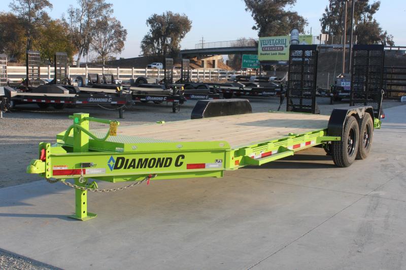 "NEW 2021 Diamond C Trailers LPX207-L 20' x 82"" 14900K GVWR Equipment Trailer"