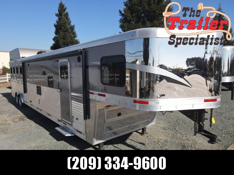 Pre-Owned 2018 Lakota 4H CHARGER LQ Horse Trailer