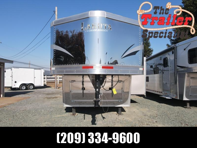 USED 2018 Lakota 4H CHARGER LQ Horse Trailer