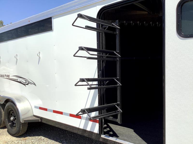 NEW 2022 Logan Coach Crossfire 4 Horse GN Horse Trailer