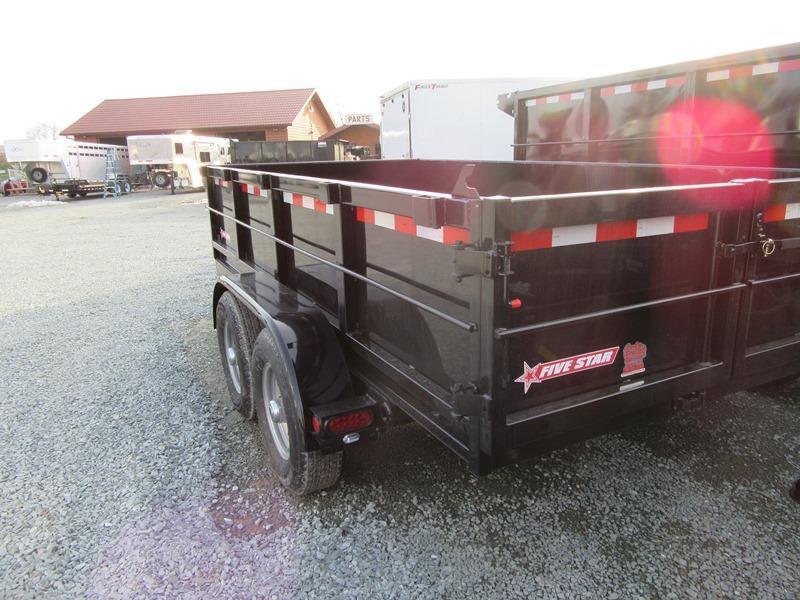 NEW Five Star DT261 6x12 10K GVW Dump Trailer