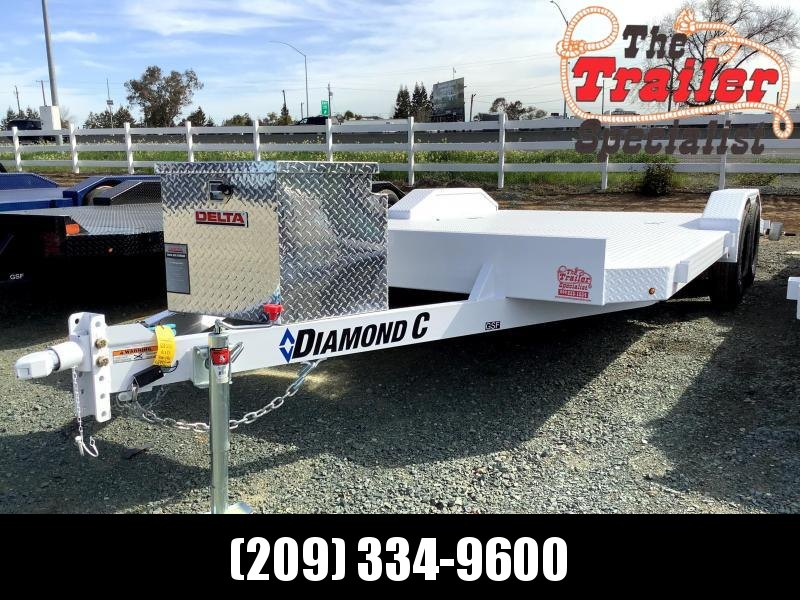 "NEW 2021 Diamond C Trailers GSF235L 18' x 83"" Car / Racing Trailer"