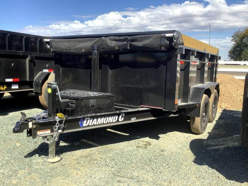 NEW 2022 Diamond C Trailers GDT235L 77' x 10' 7k Dump Trailer