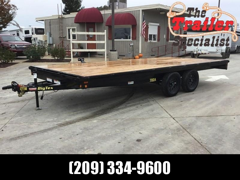 New 2021 Big Tex 70OA-18 8.5x18 Deck Over Utility Trailer