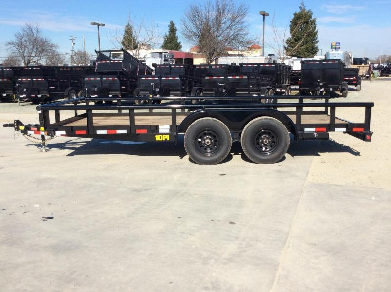 NEW 2022 Big Tex Trailers 10PI-16 7' x 16' 9990 GVW Equipment Trailer