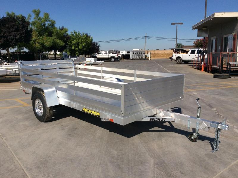 "2020 Aluma 6812H-BT Utility Trailer 68""x12' Bi-Fold Tailgate"