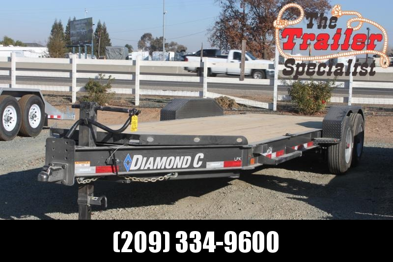 "NEW 2021 Diamond C Trailers LPX208-L 20' X 80"" 18000 GVWR Equipment Trailer"
