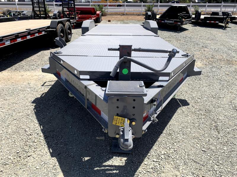"NEW 2021 Diamond C Trailers HDT208L 80"" X 24' Equipment Trailer"