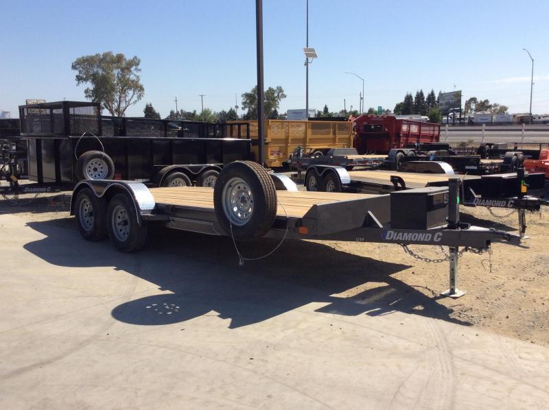 "NEW 2020 Diamond C Trailers GTF235 L 18ft x 83"" Car / Racing Trailer"