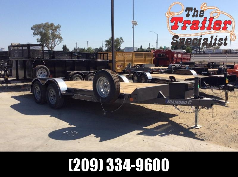 "NEW 2020 Diamond C Trailers GTF235 L 18ft x 83"" Car / Racing Trailer"