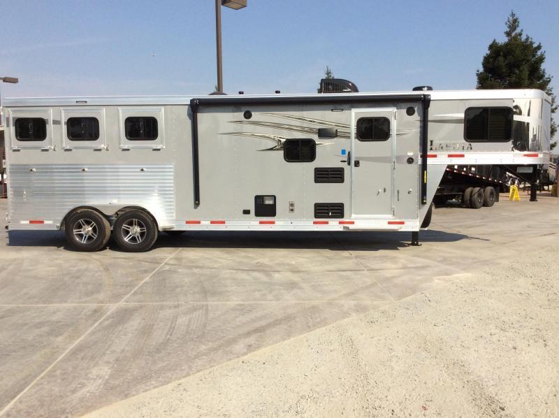 NEW 2021 Lakota 3H Charger 9ft LQ with Slide Horse Trailer