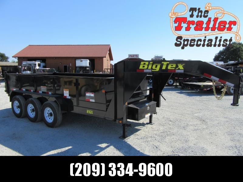 2020 Big Tex Trailers 21GX-16 Dump Trailer