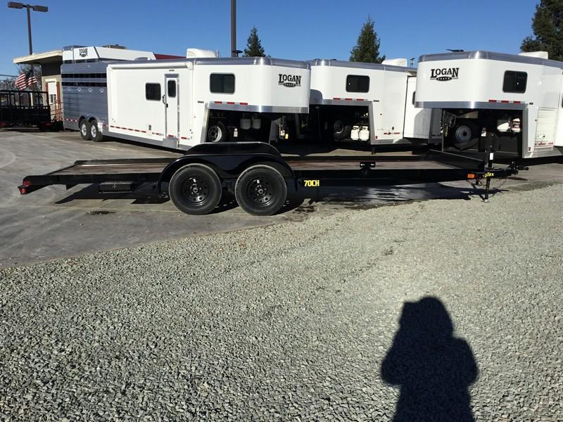 New 2020 Big Tex 70CH-20BK2 7x20 7K Car / Racing Trailer