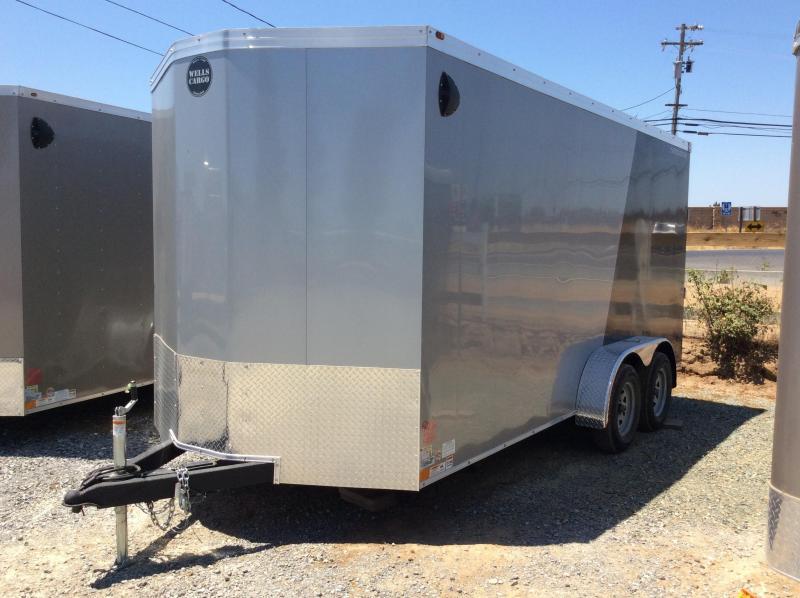 NEW 2020 Wells Cargo RFV16T2 7 x 16 Enclosed Cargo Trailer