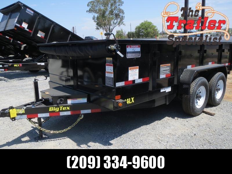New 2021 Big Tex 14LX-14 7' x 14' 14K GVW Dump Trailer