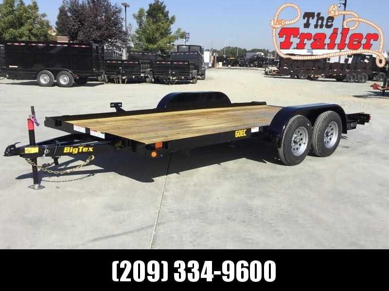 "NEW 2021 Big Tex Trailers 60EC-16 83"" x 16' 6000 GVW Car/Racing Trailer 83 x 16 Car / Racing Trailer"