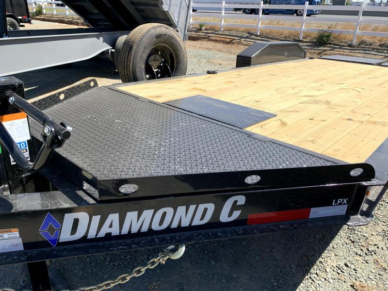 "NEW 2021 Diamond C Trailers LPX207-L 18' x 82"" 14900 GVWR Equipment Trailer"